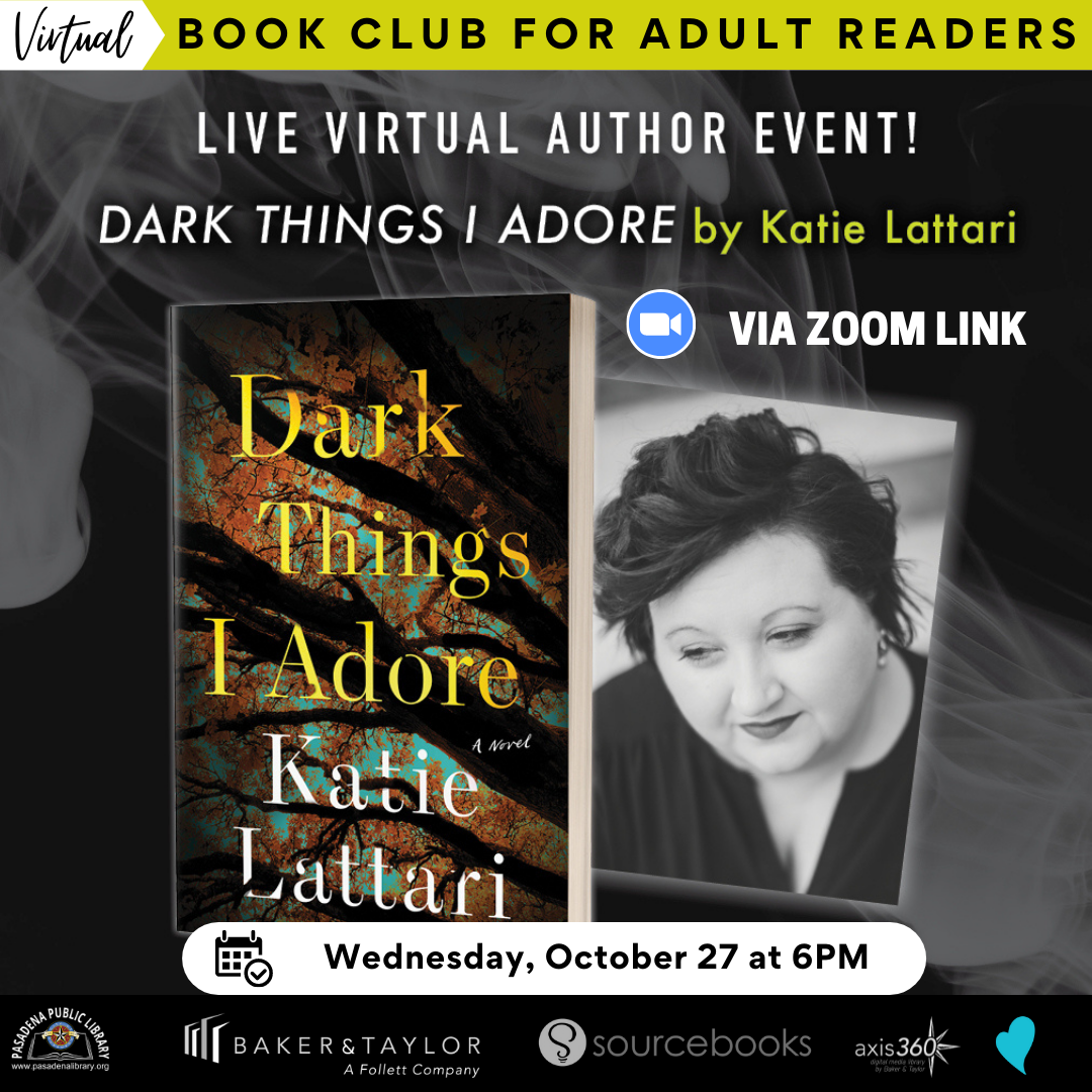 Virtual Book Club for Adult Readers: Live Event with Author Katie Lattari!