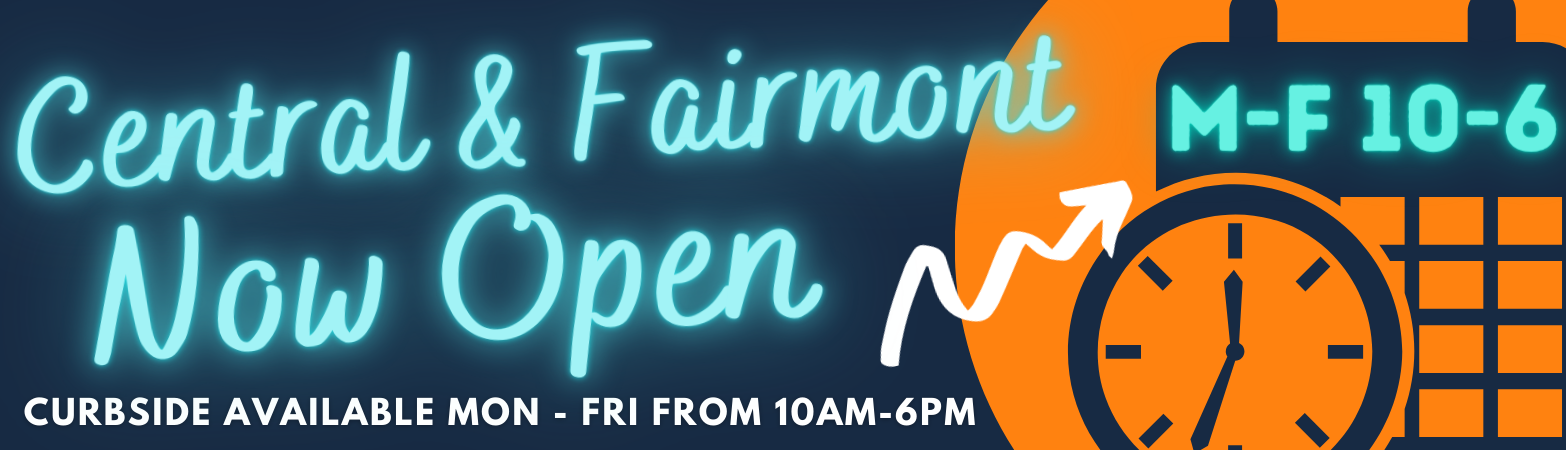 Central & Fairmont Library Now Open