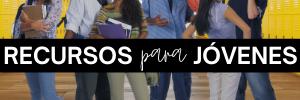 Varios jóvenes en el pasillo de la escuela con mochilas y libros