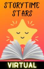 Virtual Storytime Stars - Tuesdays at 11:00 AM